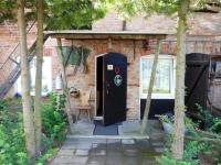 Eingang zur Ferienwohnung Kuhstall